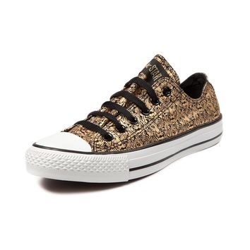 Converse All Star Lo Tigers Athletic Shoe, Black Gold | Journeys Shoes