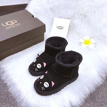 UGG baby Fashion Wool Snow Boots-1