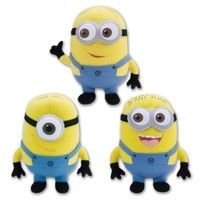 Despicable Me The Movie Minions 6.5 Inch Plush Doll Toy Set Dave Jorge Stewart Stuart