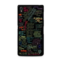 one direction song Sony Xperia Z3 Case