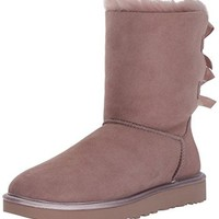 UGG Women's Bailey Bow II Metallic Winter Boot
