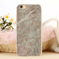 Creation Marble Stone Protect iPhone 5s 6 6s Plus Case + Gift Box-131