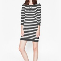Bambino Knits All Over Strip Dress