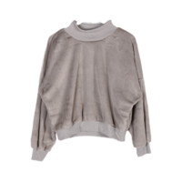 Wool Bell Sleeve Pullover