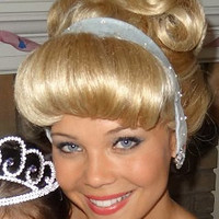 Cinderella Custom Adult Princess Costume Wig