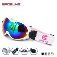 2018 Unisex Windproof Skiing Snowboard Ski Goggles Outdoor Sports Glasses Double Lens Snow Goggles For snowmobile Winter Glasses
