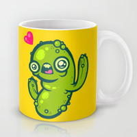 Pickled Cactus Mug by Artistic Dyslexia
