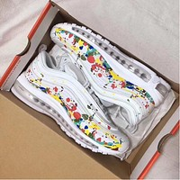 Nike Air Max 97 PRM Color Graffiti Running Sneakers Sport Shoes
