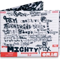 Dynomighty Men's Mix Tape Mighty Wallet
