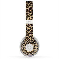 The Small Vector Cheetah Animal Print Skin for the Beats by Dre Solo 2 Headphones