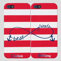Anchor Best Friends iPhone Case Infinity by PersonalizedPenquin