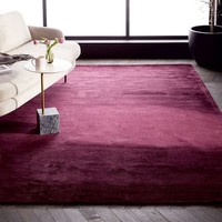 Colorfield Rug - Wine