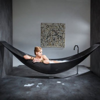 Floating hammock bath tub | Design | Home