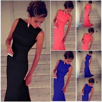Womens Celebrity Vintage Wear to Work Cocktail Party Pencil Dress = 1919629764