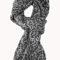 Comfy Cable Knit Scarf