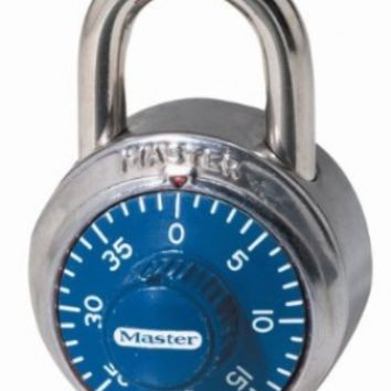 Master Lock 1505D Combination Locks in Various Colors with Anti-Shimming Protection