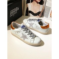 GGDB Golden Goose Uomo Donna Gray Star Fashion Shoes Low Top Sliver Sneaker