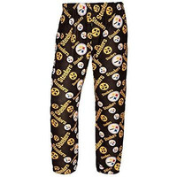 Pittsburgh Steelers Official NFL Mens Polyester Print Pants