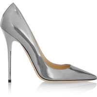 Jimmy Choo | Anouk metallic leather pumps | NET-A-PORTER.COM