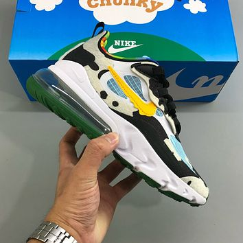 Nike Air Max 270 cushioning lightweight sports casual running shoes
