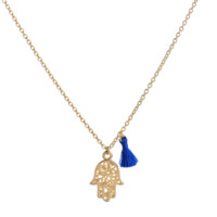 Fashion personality Bergamot pendant necklace,Cute Tassel Necklace, a perfect gift !