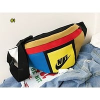 NIKE fashion hot selling matching color Fanny pack lady casual cross chest bag #1