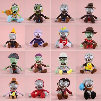 Plants vs Zombies Plush Toys 30cm Plants vs Zombies Soft Stuffed Plush Toys Doll Toy for Kids Party Gifts Toys
