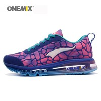 ONEMIX wmen sneakers female running shoes soft deodorant insole eliminating dampness for outdoor athletic jogging walkings shoes