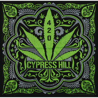 Cypress Hill 420 Bandana Black