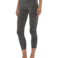 Seamless Compression Leggings, Grey