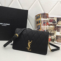 ysl women leather shoulder bag shopping satchel ysl tote bag handbag 43