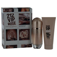 Carolina Herrera Gift Set 212 Vip Rose By Carolina Herrera