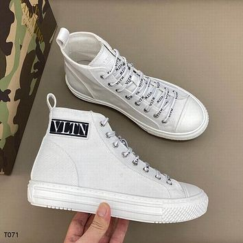 Valentino Fashion Men Women's Casual Running Sport Shoes Sneakers Slipper Sandals High Heels Shoes