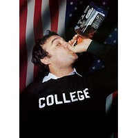 [SO] John Belushi Animal House Whiskey College Poster 24x34