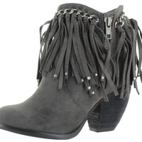 Not Rated By Naughty Monkey Women's Ayita Ankle Boots