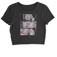 Marilyn with Blunt Cropped T-Shirt