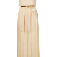 **Metallic Maxi Dress by Coco's Fortune - Dresses  - Clothing