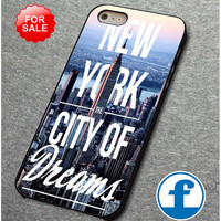 new york city of dreams for iphone, ipod, samsung galaxy, HTC and Nexus Phone Case