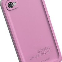 LifeProof - Case for Apple® iPhone® 4 and 4S - Pink - LP-IPH4-CS-1-PK-1 - Best Buy
