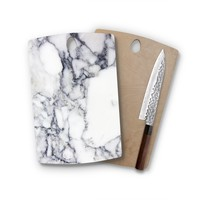Charcoal Marble Rectangle Cutting Board Trendy Unique Home Decor Cheese Board
