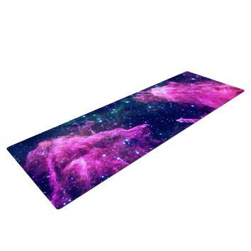Cotton Candy Space Yoga Mat