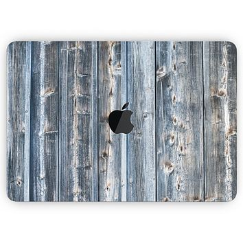 """Vertical Planks of Wood - Skin Decal Wrap Kit Compatible with the Apple MacBook Pro, Pro with Touch Bar or Air (11"""", 12"""", 13"""", 15"""" & 16"""" - All Versions Available)"""