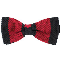 Tok Tok Designs Children Bow Tie for 2 - 8 Years (BK263, Knitted)