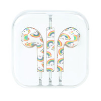 Micase Rainbow Love Is Love Earbuds