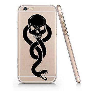 Death Eater Dark Sign Iphone 6 6s Case, Clear Iphone Hard Cover Case For Apple Iphone 6 6s Emerishop (VAE202.6sl)