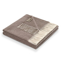 Kilimangiaro 100% Cashmere Throw | Brown