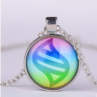 NEW Details About Silver Anime Pokemon Mega Stone Jewelry Glass Dome Pendant Necklace Pocket Monster Alloy Sautoir