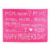 Need Mom Mother's Day Card