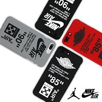 NIKE AIR 90 Off-White X Nike Air, phone 7/6s frosted half pack 6plus hand case.