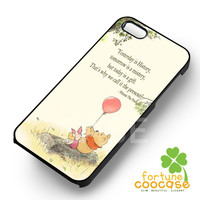 Winnie the pooh Quote Disney - 21zzzz for  iPhone 4/4S/5/5S/5C/6/6+s,Samsung S3/S4/S5/S6 Regular/S6 Edge,Samsung Note 3/4